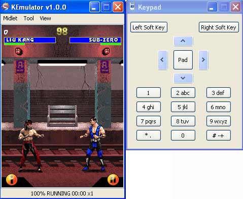 شبیه سازی و اجرای بازی و برنامه موبایل جاوا در کامپیوتر با KEmulator v1.0.0