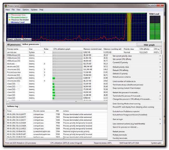افزایش سرعت رایانه با Process Lasso Pro 5.1.0.23 Final