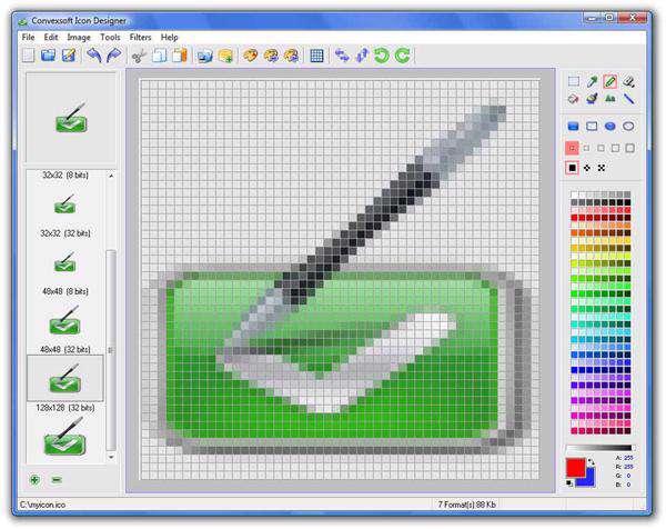 ایجاد آیکونهای ویندوز با ConvexSoft Icon Designer 2.3