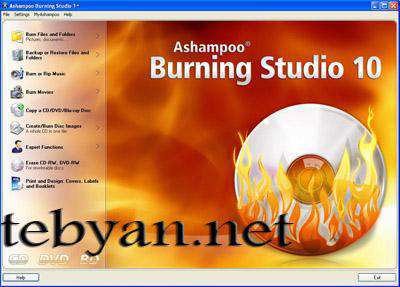 Ashampoo Burning Studio 11.0.2.9 All In One - مدیریت CD و DVD