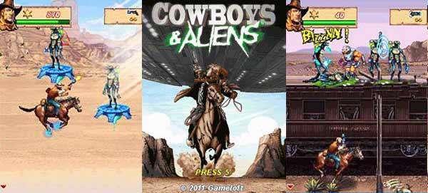 بازی موبایل Cowboys And Aliens داستانی - جاوا