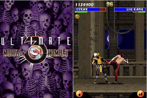 بازی موبایل Ultimate Mortal Kombat 3 - جاوا