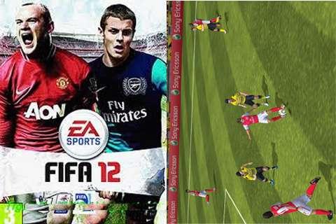 بازی موبایل فوتبال فیفا 2012 - جاوا