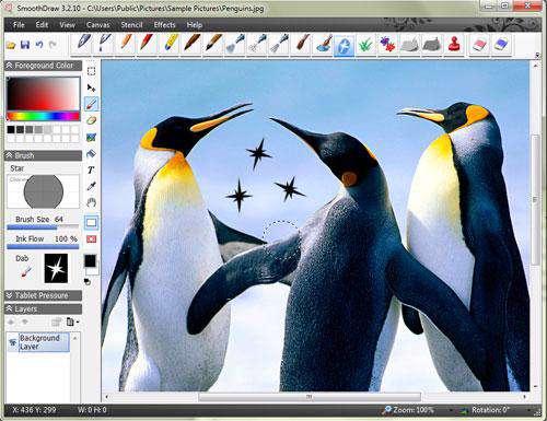 نقاشی حرفه ای با SmoothDraw 3.2.10 Portable