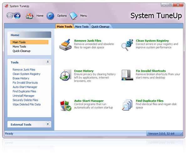 بهینه سازی کامپیوتر با Acelogix System TuneUp 3.0.0.434