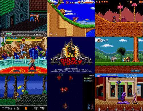 پک 6 بازیهای دستگاه SEGA