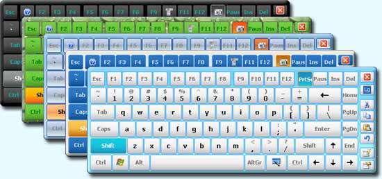 صفحه کلید مجازی Hot Virtual Keyboard 7.0.2