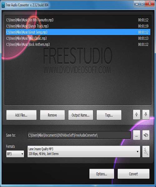 Free Audio Converter 5.0.3 - مبدل صوتی فرمت ها