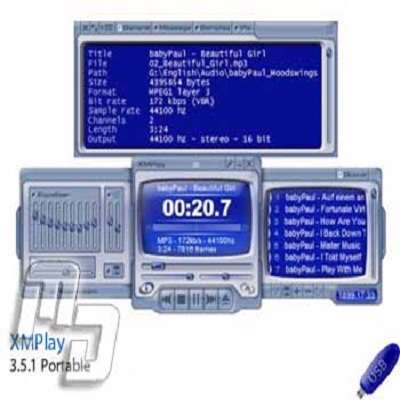 XMPlay 3.6 - پلیر صوتی