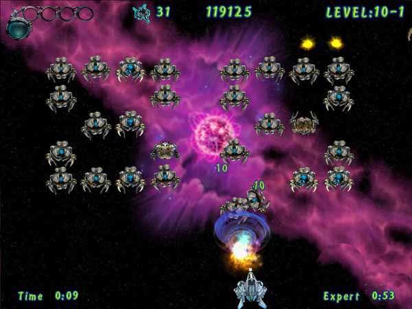 بازی فضایی Atomaders
