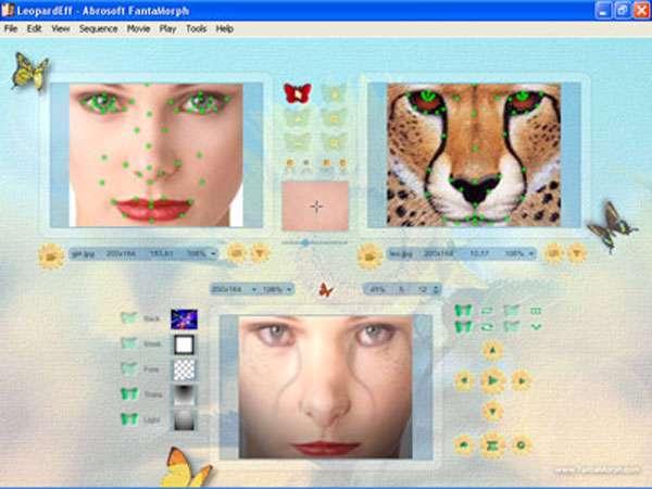 ترکیب و مونتاژ عکس با Abrosoft FantaMorph Deluxe v5.2.5