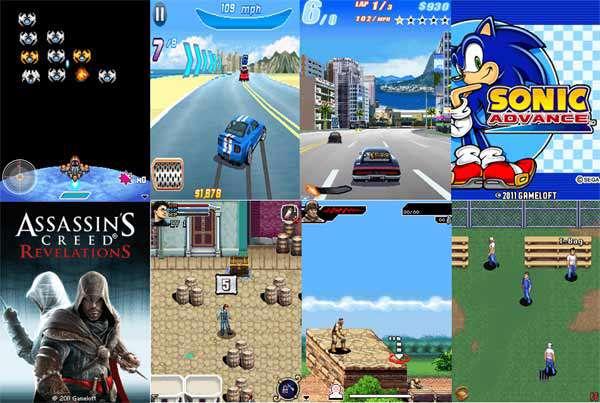 مجموعه 9 بازی جدید موبایل جاوا Mobile Java Games