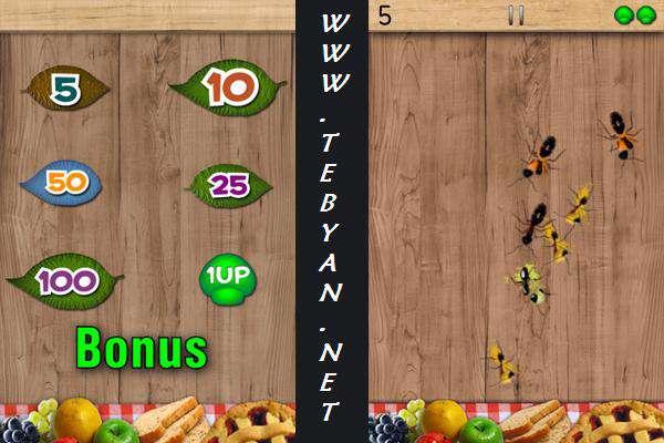 بازی زیبا و سرگرم کننده ضدمورچه مخصوص اندروید، Ant Smasher V2.1.17
