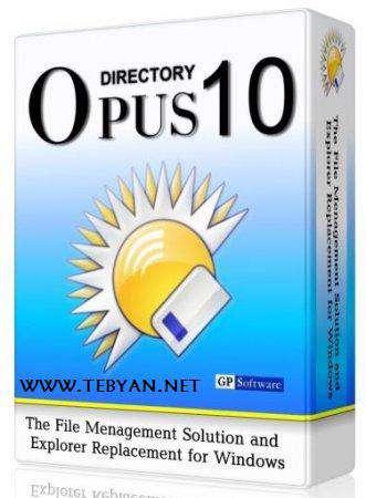 فایل منیجر ویندوز، Directory Opus 10.0.3.0.4392 Final