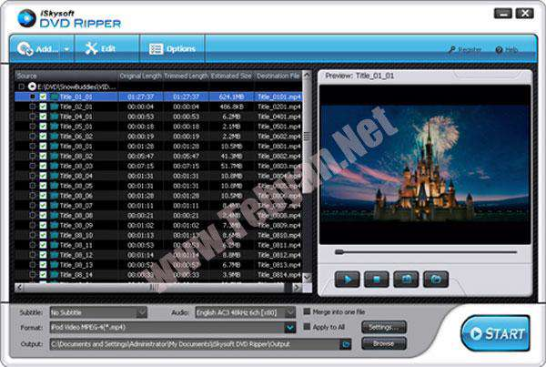 تبدیل DVD به انواع فورمت تصویری با iSkysoft DVD Ripper v2.6.0