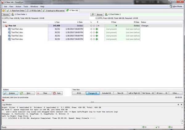 بکآپ گیری و ذخیره سازی فایل با Goodsync Enterprise 8.8.9.9