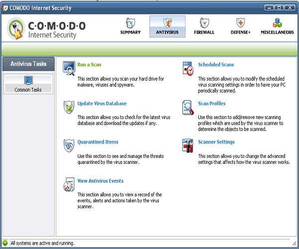 Comodo Internet Security 5.9.219747.2195