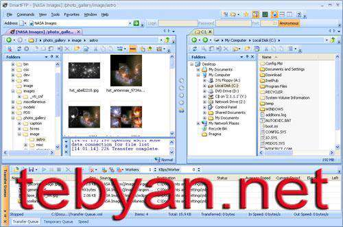 SmartFTP 4.0.1227.0 - مدیریت FTP