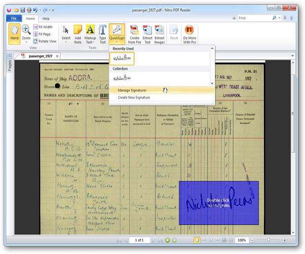 Nitro PDF Reader 2.1.1.4
