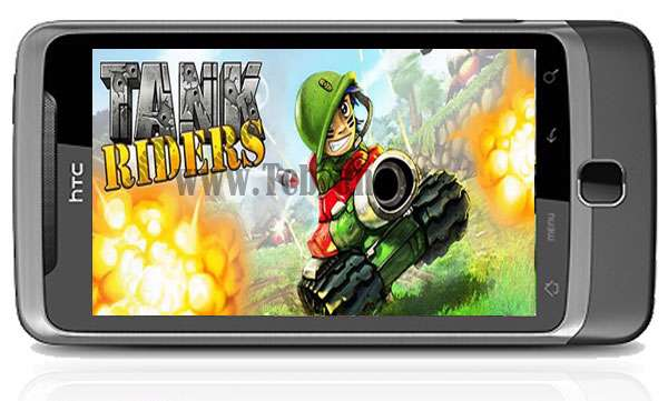 بازی موبایل تانک سواران Tank Riders v1.0 آندروید