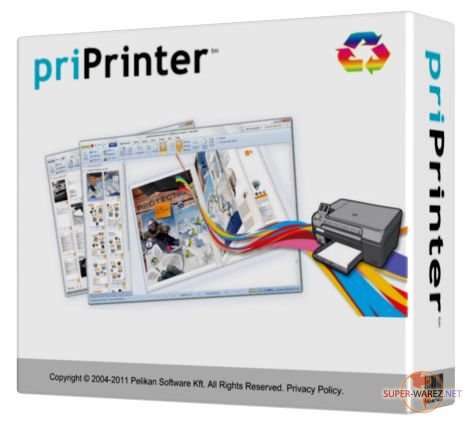 پرینتر مجازی، priPrinter Professional 4.5.1.1348 Final