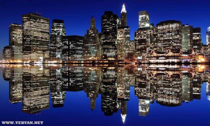 55 تصویر پس زمینه (والپیپر) زیبا از شهرهای بزرگ با کیفیت Full HD