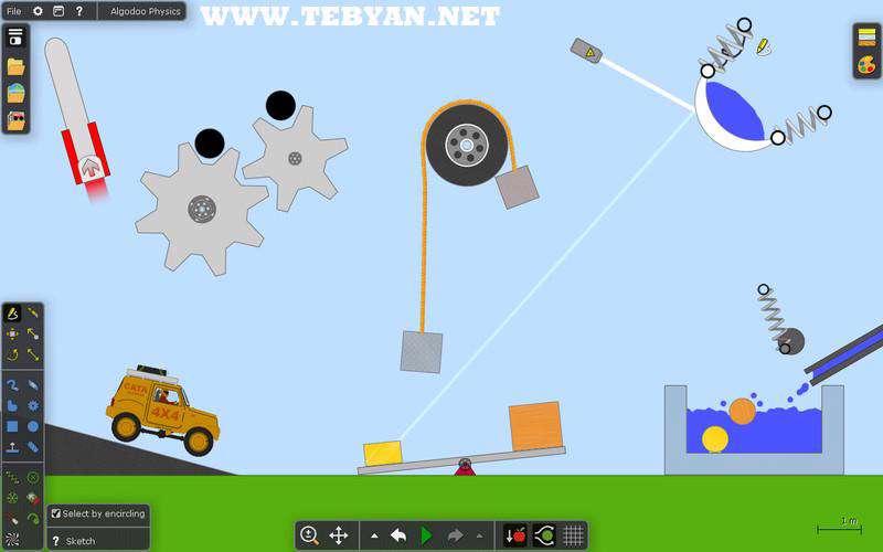 بازی با فیزیک، Algodoo 2.0.1