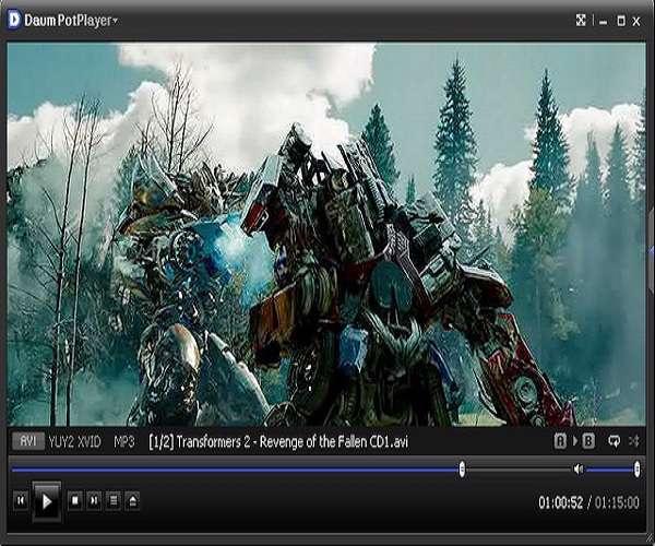 Daum PotPlayer 1.5.31934 - پلیر قدرتمند
