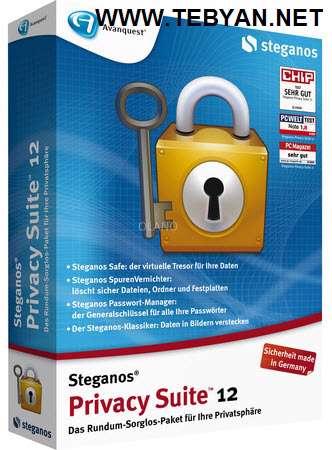 مخفی کردن اطلاعات Steganos Privacy Suite 2012 v13.0.1.9936