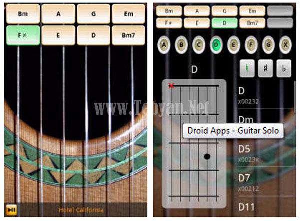 نرم افزار موبایل گیتار Virtual Guitar v1.0 آندروید