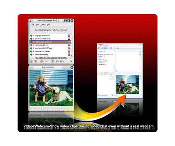 Video2Webcam 3.2.9.6 - وب کم مجازی