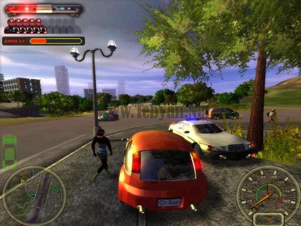 بازی مسابقات اتومبیلرانی خیابانی City Racing