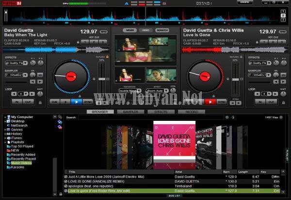 میکس فایل های صوتی و دی جی موزیک با VirtualDJ PRO Full v7.0.5b