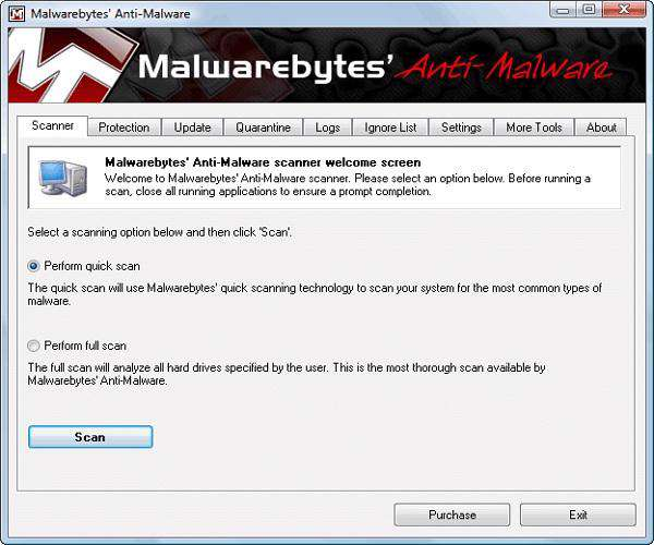 Malwarebytes Anti-Malware 1.60.1