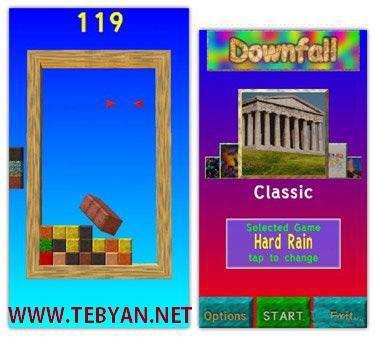 بازی زیبا Downfall HD 2.08 نسخه سیمبیان ۳