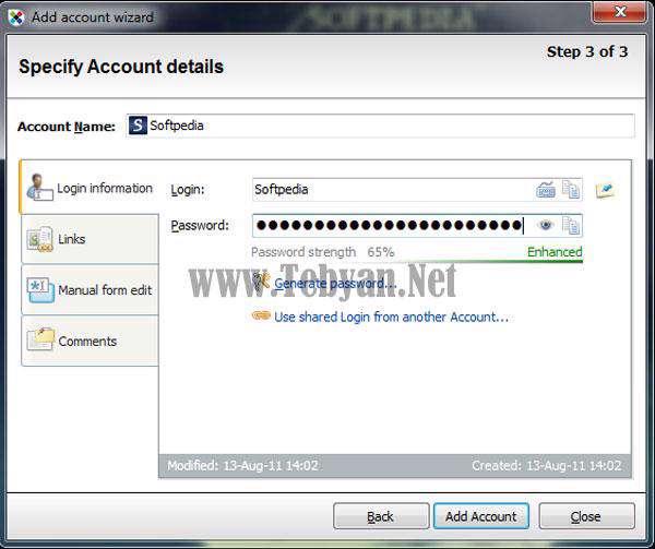ذخیره و نگهدای پسورد با Sticky Password Pro 5.0.6.247