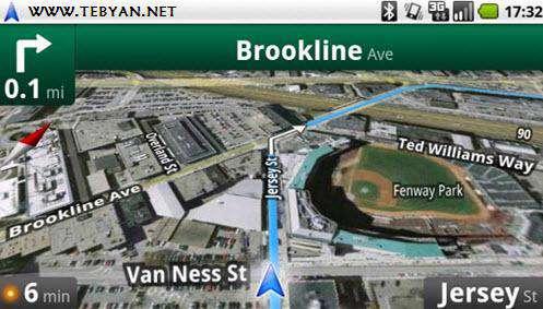 نقشه گوگل نسخه اندروید، Google Maps 6.2.0