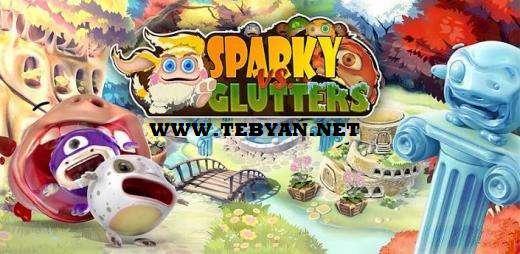 بازی زیبا اسپارکی و گلوترز نسخه آندروید، Sparky vs Glutters 1.2