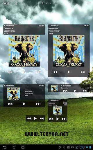 موزیک پلیر اندروید، GoneMAD Music Player 1.1.17
