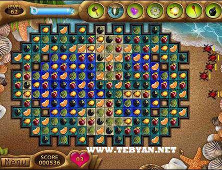 بازی بسیار زیبا و سرگرم کننده Fruit Mania