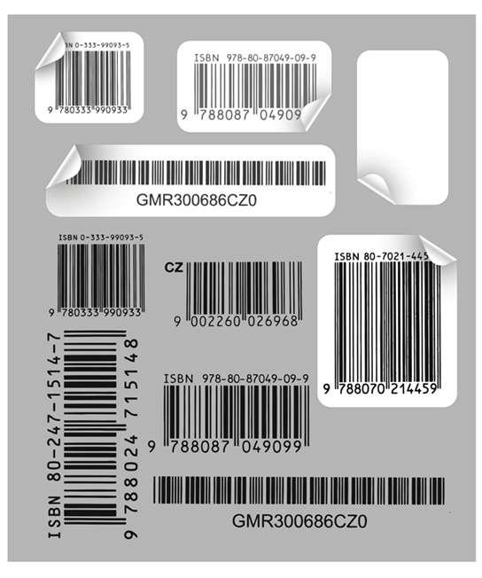 مجموعه تصاویر وکتوری  Vector-Barcodes