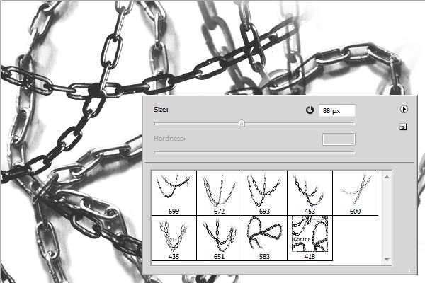 براش Inobscuro Chains