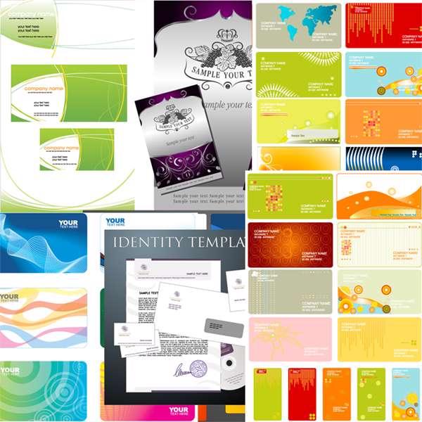 مجموعه تصاویر وکتوری Business Cards