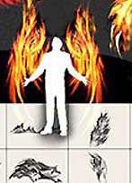 براشی با قابلیت ایجاد بال آتشین