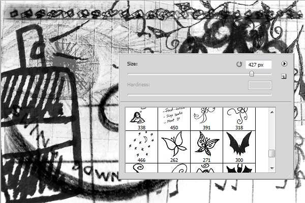 براش Inobscuro Doodles01