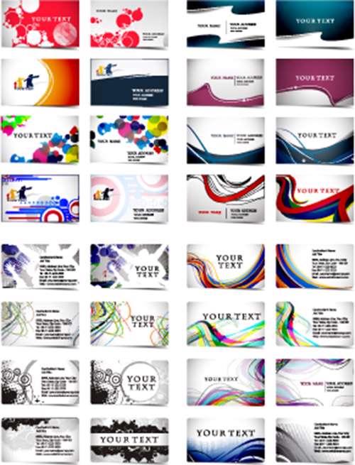 مجموعه تصاویر وکتوری Business Card 16_01