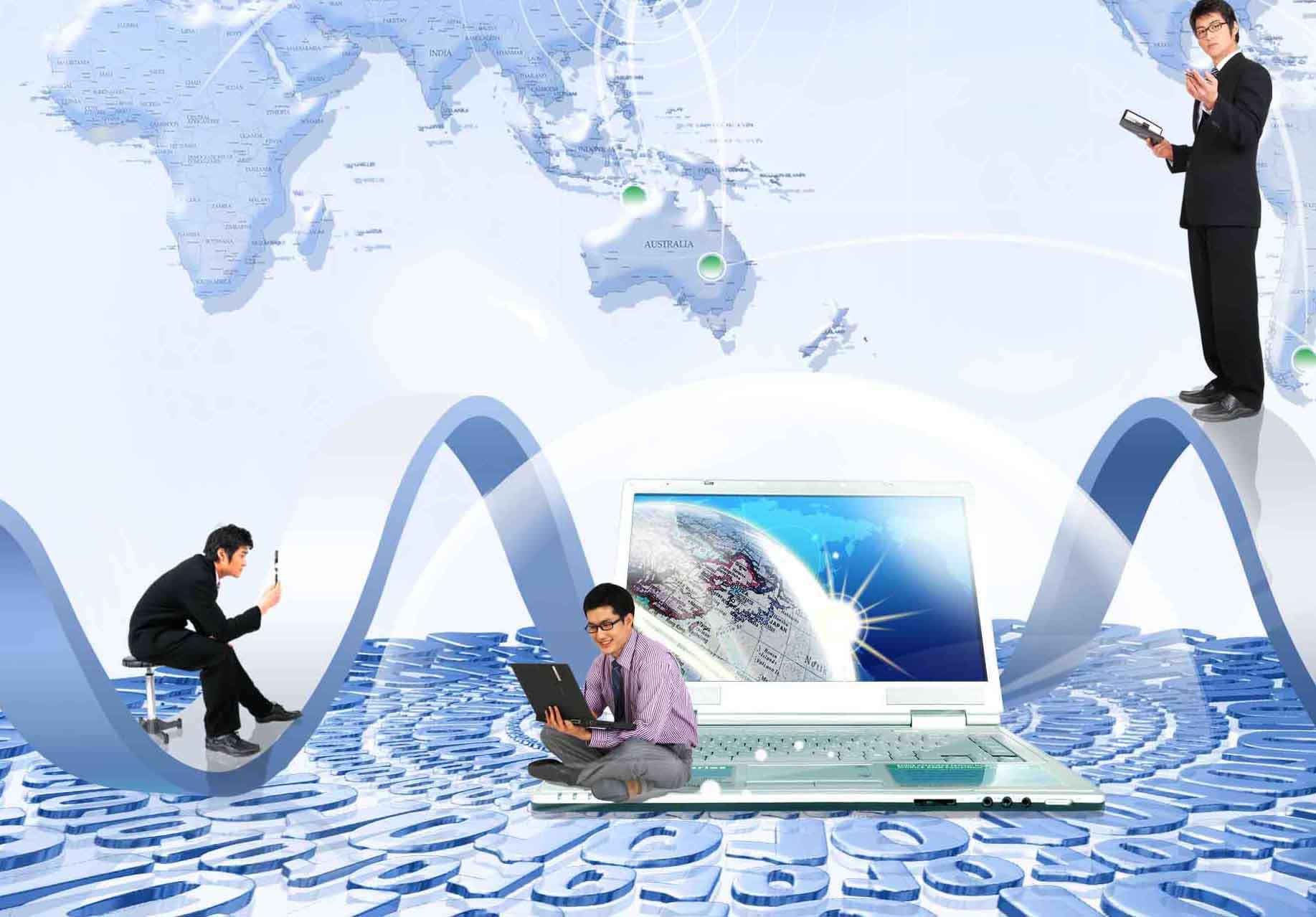 تصاویر لایه باز تبلیغاتی، تجاری و دیجیتال نگاه به آینده
