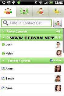 مسنجر گوشی های آندروید، eBuddy Messenger v3.0.3