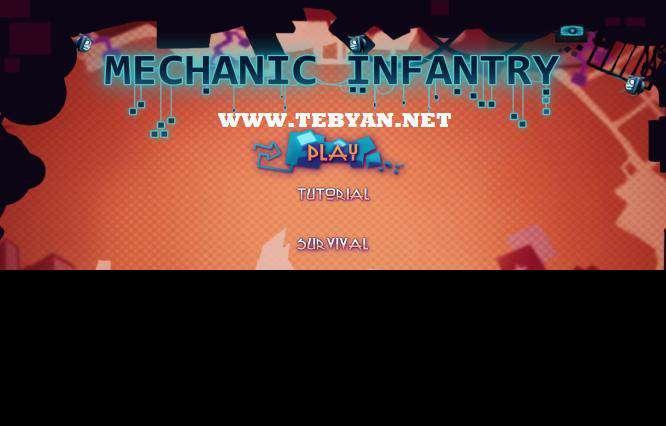 بازی جدید جنگ ماشین ها، Mechanic Infantry 2011