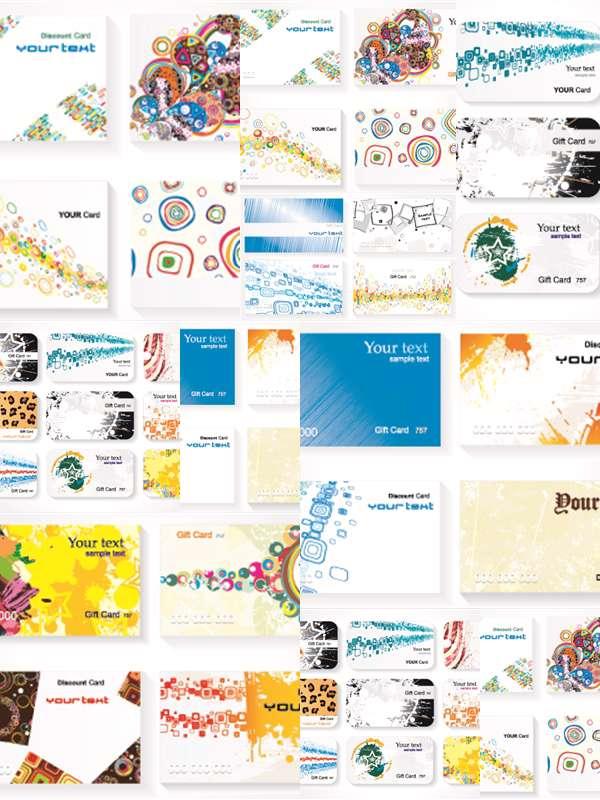 مجموعه تصاویر وکتوری Stock Vector - Business Cards